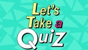 Quiz with Sharon