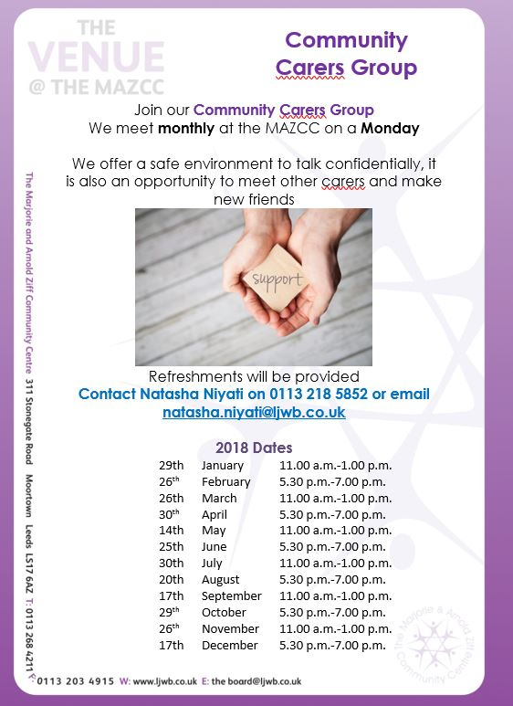 Comm carers group