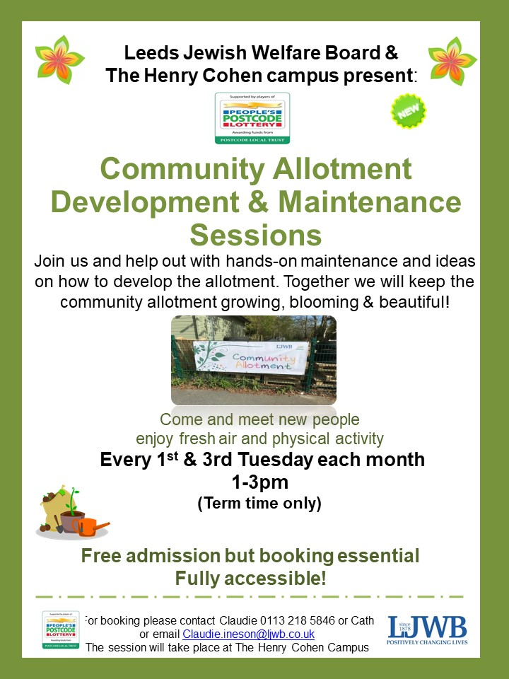 Community Allotment Sessions